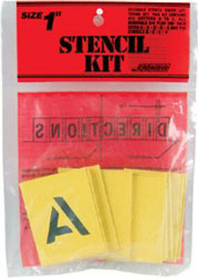 """Reusable Stencil Lettering Kit-1"""" Painting Stenciling Wall D?cor"""
