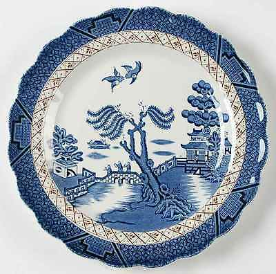 """Booths REAL OLD WILLOW 10"""" Dinner Plate 9601513"""