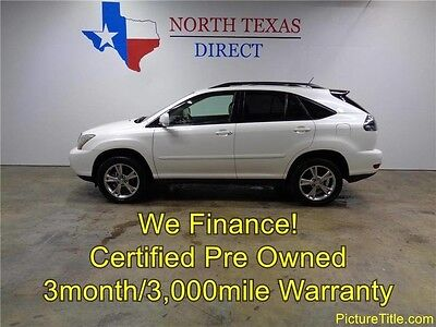 2006 Lexus RX Base Sport Utility 4-Door 06 RX400 FWD Hybrid Leather Heated Seats Sunroof Warranty We Finance Texas