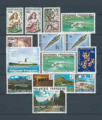 Lot Nº 2 - Polynesie - Timbres Neufs** Mnh Luxe