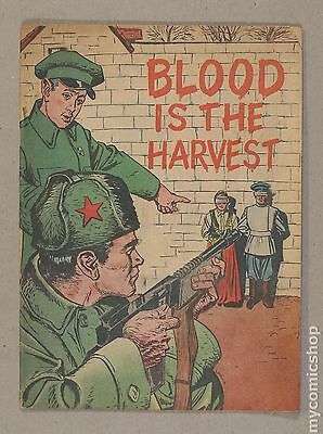 Blood is the Harvest (1950) #0A VG- 3.5