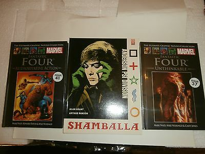 Fantastic Four  Marvel Comics Ultimate Graphic Novels  37 & 41 (Sealed) + Extra