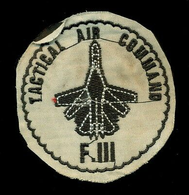 USAF F-111 Tactical Air Command Patch S-2