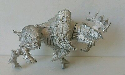 Khorne Chaos Lords Juggernaut unpainted metal model Scarce Warhammer AOS OOP