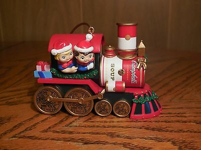 Campbells Soup / Kids 2000 Limited Christmas Train Collector's Edition Ornament