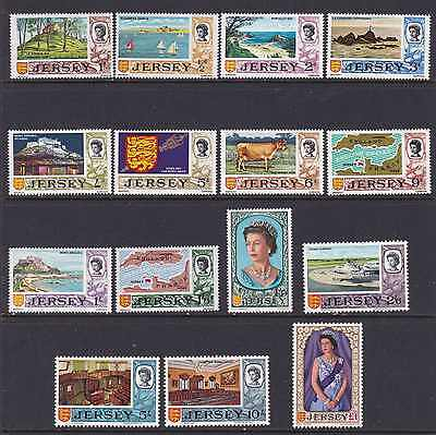Great Britain-Jersey Mint Stamps Sc#7-21 MLH CV$54