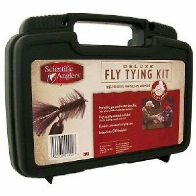 Scientific 099413 Anglers Deluxe Fly Tying Kit