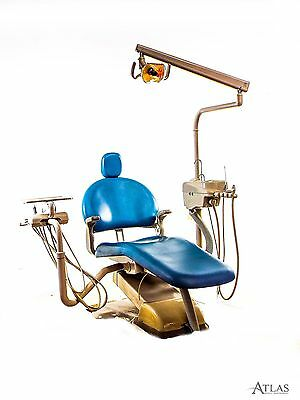 Adec Performer Dental Operatory Exam Chair w/ Delivery, 2 Motors, Surgical Light