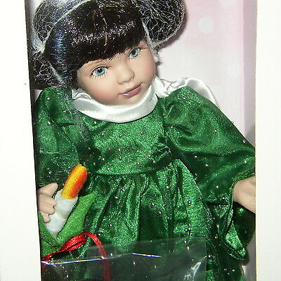 Rare Brunette Candlelight Marie Osmond Doll/2009/nrfb/ns