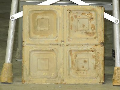 Old Antique ( Metal ) tin ceiling tile tiles 12x12
