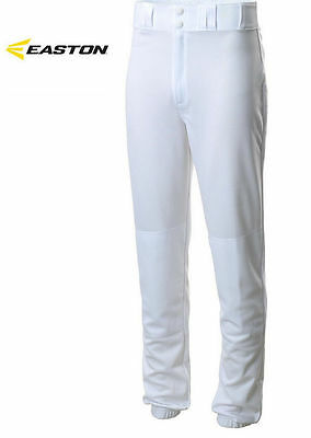 DF-55 Easton Youth Pro SheenBaseball Pants Traditional Fit White XL W/Stain
