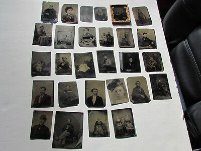 collection of tintype photographs