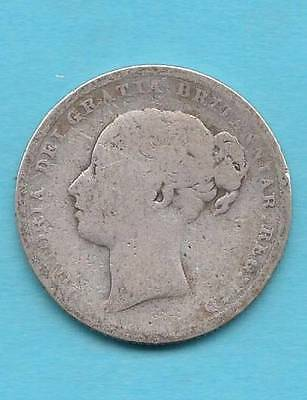 1883 Great Britain One Shilling w/ Queen Victoria- see photos