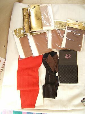 Lot Vintage Magic Leg Panty Girdle With Hose Stockings New In Package