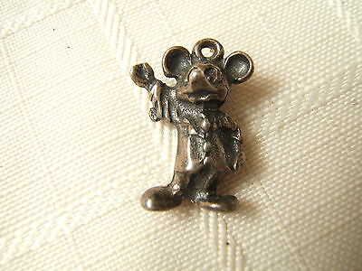 Sterling Silver Charm Wdp Mickey Mouse