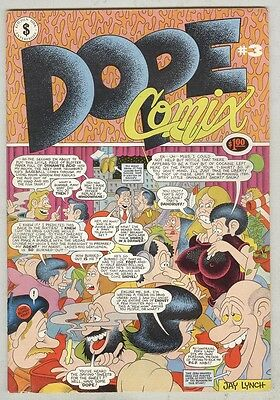 Dope Comix #3 VG+ 1979
