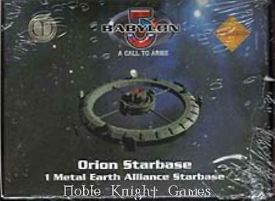 Mongoose Babylon 5 Call to Arms Earth Mini Orion Starbase Pack NM