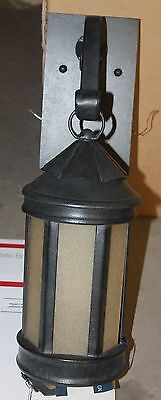 NWT Troy Lighting OUTDOOR WALL SCONCE light Anderson's Forge B1461 AI