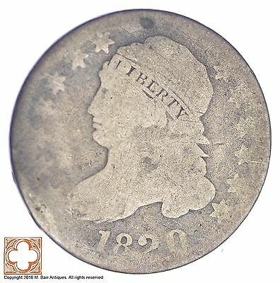 1820 Capped Bust Dime *XB92