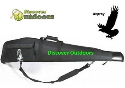 NEW Osprey Cordura BLACK Gun Bag 52 Inches for RIFLE Hunting