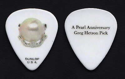 Bad Religion Greg Hetson Pearl Guitar Pick - 2013 Tour