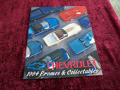CHEVROLET--1994 PROMOS Collectibles Brochure--NEW
