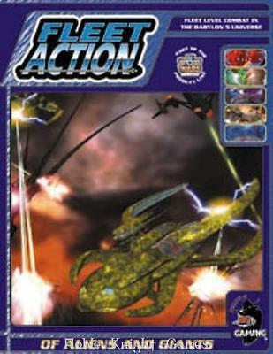 Agents of Gaming Babylon 5 Fleet Scale Mini Of Aliens and Giants SC VG