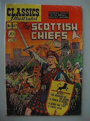 Classic Illustrated #67 G- 1st Scottish Chiefs