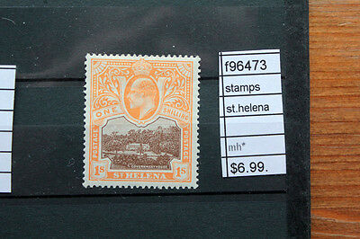 Stamps St.helena Mh* (F96473)