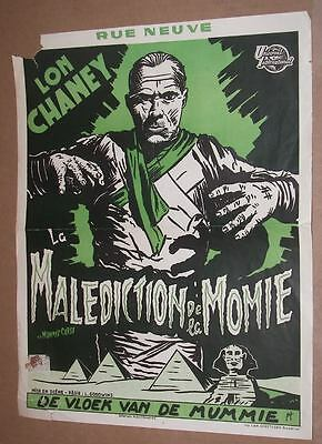 THE MUMMY'S CURSE Lon Chaney Jr. Belgian First Release
