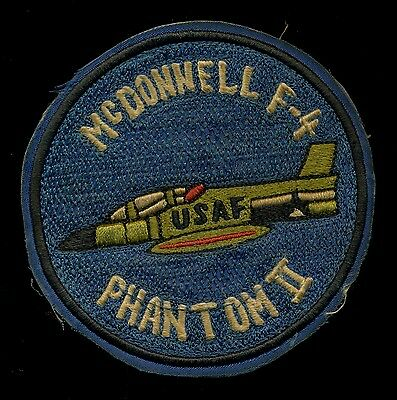USAF F-4 McDonnell Phantom 2 Patch S-23