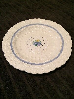 """Copeland Spode's Jewel - Blue Old Concord 9"""" Plate"""