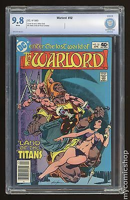 Warlord (1976 1st Series DC) #32 CBCS 9.8