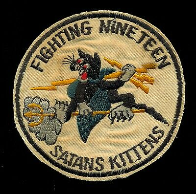 USN VF-19 Satans Kittens Patch A-6