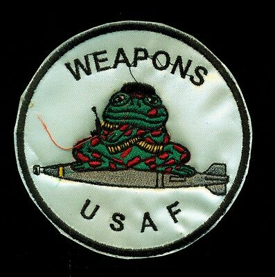 USAF Weapons Toad Patch S-8