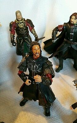 11 x Lord of the Rings Action Figures