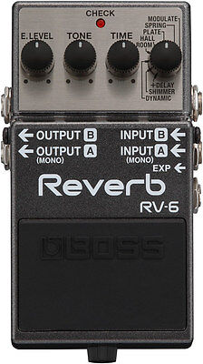 BOSS RV-6 Reverb – Lush Ambient Spaces with Versatile Sound Possibility