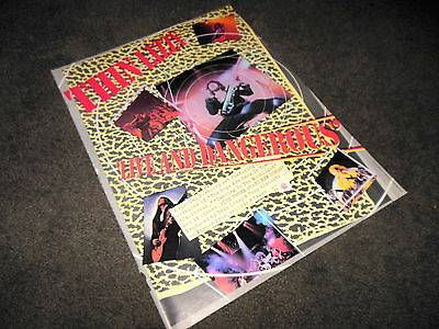 THIN LIZZY Live And Dangerous 11x14 Promo BILLBOARD Ad Poster