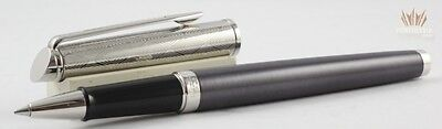 Waterman Hemisphere 16 Lux Saphir With Chrome Trim Roller Ball Pen Superb Design