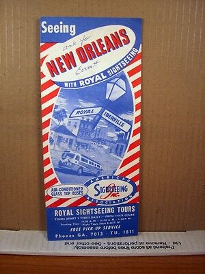 Flyer Royal Sightseeing Tours Seeing New Orleans