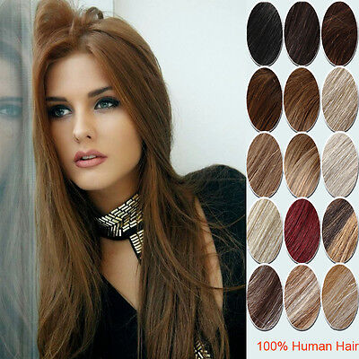High Quality 100% Clip in Remy Human Hair Extensions 14inch-30inch  Full Head