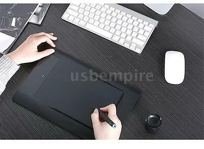"""UK Stock Art Graphics Drawing 10"""" Tablet Wireless Pen Pad for Laptop PC Black"""