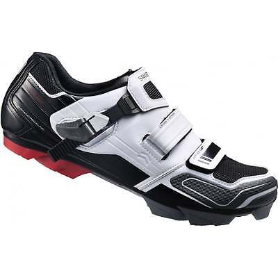 Shimano XC51 SPD MTB XC Mountain Bike Off Road Sports Shoes - White/Black
