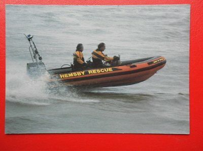 Postcard Hemsby Inshore Rescue Lifeboat