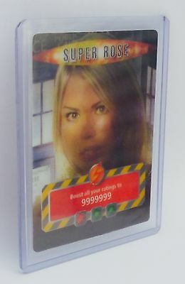 Dr Doctor Who Battles In Time SUPER ROSE TYLER INFINITE TRADING CARD - BBC 2006