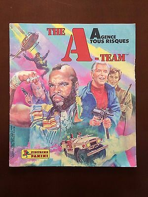 Panini Agence Tous Risques / A-Team / El Equipo A - Album Completo