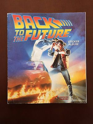 Panini Back To The Future - Album Completo En Ingles + Sobre Vacio