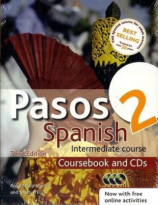 Pasos 2 Spanish Intermediate Course 3rd edition revised: Coursebook and CDs: in.