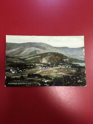 Vintage Postcard 1907 Lake District, Patterdale from Place Fell