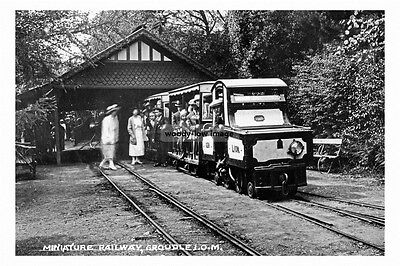 pt5174 - Isle of Man Minature Railway - photo 6x4